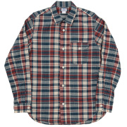 Work Shirt Red Madras