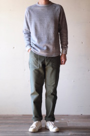 WORKERS Baker Pants Slim Reversed Sateen OD-1