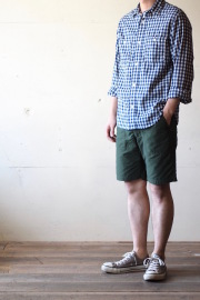 WORKERS Baker Shorts 60/40 Cloth Green-1