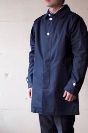 WORKERS Bal Collar Coat Ventile Navy-1