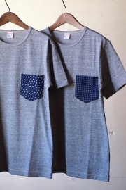 WORKERS Bandana T-Shirt Grey-1