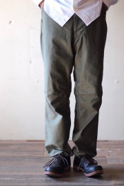 WORKERS FWP Trousers Reversed Sateen OD-1