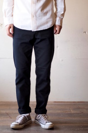 WORKERS Lot.802 Slim Tapered Pique Black-1