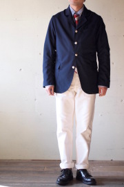 WORKERS Lt. Creole JKT Wool Tropical Navy-1