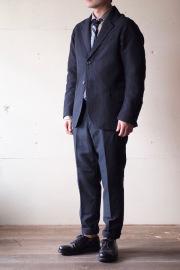 WORKERS Moonglow JKT Wool Linen Serge-1