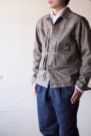 WORKERS Pique Jacket Type1 Beige-1