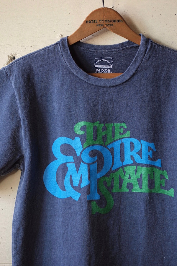 Mixta (ミクスタ) Printed Tee The Empire State Night Ocean-1