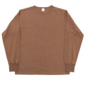 6oz L/S Tee Crew Neck, Coyote