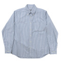 BD Shirt D-OX Blue Stripe