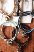 Button Works (ボタンワークス) Leather Bracelet-2