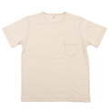 Crew Pocket Tee Oatmeal