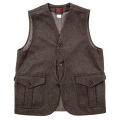 Cruiser Vest Melton Brown