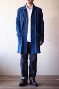Gypsy&Sons Indigo P-Knit Atelier Coat-1