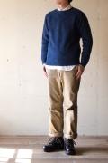 Harley of Scotland, Shetland Sweater, Denim4