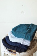 ISLAND KNIT WORKS, Andy Cotton knit Cap / IKW-A-53-1