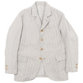Lt. Creole JKT cotton Linen Stripe