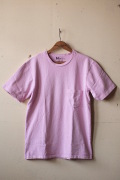 Mixta (ミクスタ) Crew Neck Pocket Tee Lilac-1