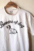 Mixta Printed T-Shirt, Beware of dog-1