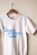 Mixta (ミクスタ) Printed T-Shirt Feel Good Natural-1