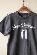 Mixta (�ߥ�����) Printed T-Shirt, Same Difference V.Black-1