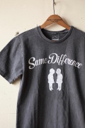 Mixta (ミクスタ) Printed T-Shirt, Same Difference V.Black-1