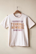 Mixta (�ߥ�����) Printed T-Shirt Terminal Nowhere-1
