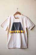 Mixta (ミクスタ) Printed Tee Western Ave Natural-1