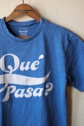 Mixta Printed T-Shirt, Que Pasa. Denim Blue-1