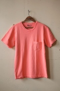 Mixta V-Neck Pocket T-Shirt, Pink Heuchera-1