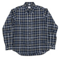 Modified BD Brushed Indigo Check