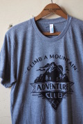 Monorail Studio T-Shirt Adventure Club Athletic Grey-1
