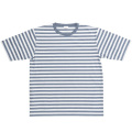 Narrow Border S/S White-Grey
