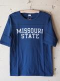 PINE TREE 七分 T-Shirt Missouri-Navy