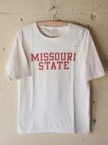 PINE TREE 七分 T-Shirt Missouri-White