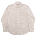 Round Collar Shirt Tattersall
