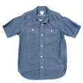 S/S Work Shirt Blue