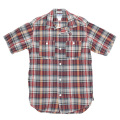 S/S Work Shirt Madras Red