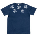 T-Shirt Floral Navy