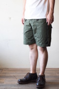 TCB jeans Crawling Shorts Rip Stop OD-6
