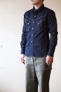 TCBjeans RANCHMAN Shirt, Denim-1