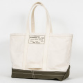 Tool Bag 2-tone L Long, Ecru-Khaki