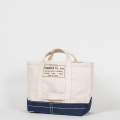 Tool Bag 2-tone M Short, Ecru-Navy
