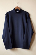 WORKERS AB Plain Mock Neck L/S Tee Black-1