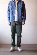 WORKERS Baker Pants, Slim Fit Reversed Sateen 2-Tone-1