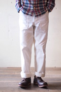 WOREKRS Baker Pants Standard Fit Pure White-1