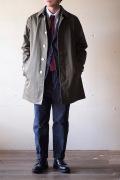 WORKERS Bal Collar Coat Ventile Khaki-1
