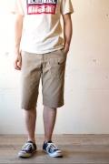 WORKERS Battledress Cruiser Shorts, Beige-1