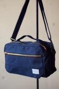 WORKERS Canvas Shoulder Bag Navy-1