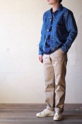 WORKERS Denim JKT Type1, Washed-1