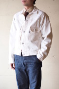 WORKERS Denim JKT Type 1st 13.75oz White Denim-1